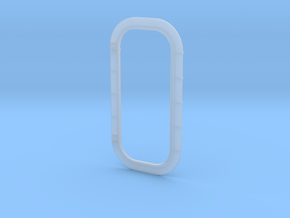 1/45 Ship Door Frame in Smooth Fine Detail Plastic