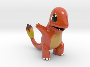 Charmander in Coated Full Color Sandstone