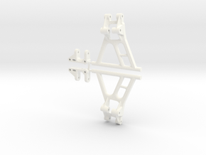 Tamiya Hornet Front Suspension, No Mount 045011-20 in White Strong & Flexible Polished
