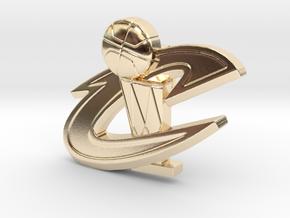 Championship Keepsake in 14k Gold Plated Brass