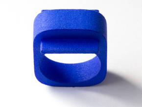 Squared Piece in Blue Strong & Flexible Polished: 8.5 / 58