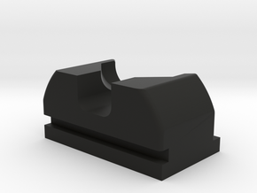 PPQ Suppressor Rear Sight in Black Natural Versatile Plastic