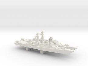 Neustrashimyy-class frigate x 2, 1/2400 in White Strong & Flexible