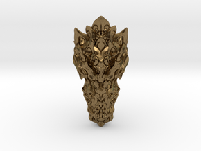 Dragon Ring - Size 10  in Natural Bronze