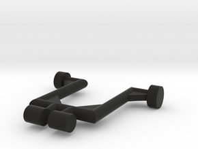 Rapid Attack Motorcycle Stand in Black Natural Versatile Plastic