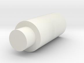 Extended, Hollow Flat Nub Für Tippmann M4 Länger in White Natural Versatile Plastic