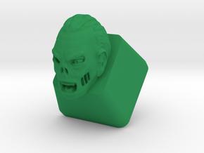 Topre Zombie Keycap in Green Processed Versatile Plastic