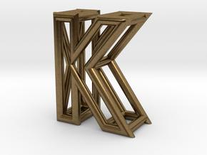 K in Natural Bronze
