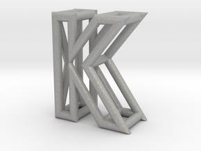 K in Aluminum