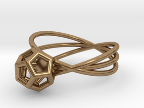 Essential Simplicity - Ring in Natural Brass