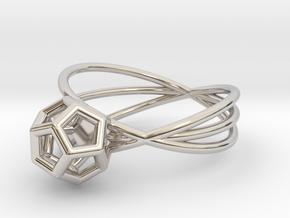 Essential Simplicity - Ring in Platinum