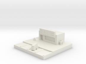 Building 5 in White Natural Versatile Plastic
