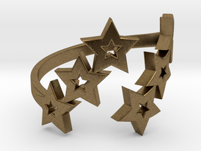 Ring Star 1011 in Natural Bronze
