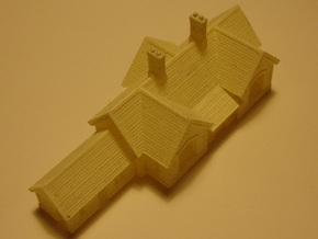 Carlisle & Settle Line - Small Station - T - 1:450 in Smooth Fine Detail Plastic