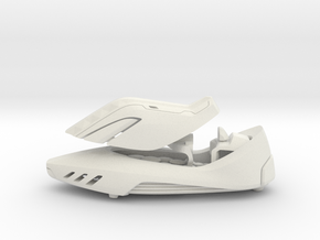 Shoe Car - from Concept Design Quest in White Natural Versatile Plastic