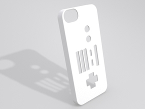 NES Controller iPhone 5 case in White Natural Versatile Plastic