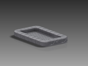 60 Man Rectangular Float 1/72 in Frosted Ultra Detail