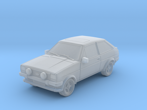1:87 Fiesta mk1 supersport hollow ho 1mm-walls in Frosted Ultra Detail