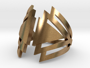 Ring Triangles in Natural Brass