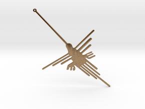 Nazca: The Humming Bird [V2.0] in Natural Brass