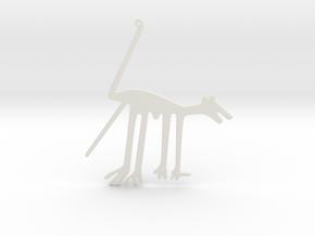 Nazca: The Dog in White Natural Versatile Plastic