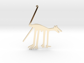 Nazca: The Dog in 14K Yellow Gold