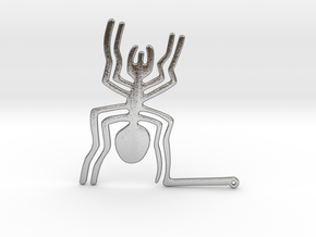 Nazca: The Spider in Natural Silver