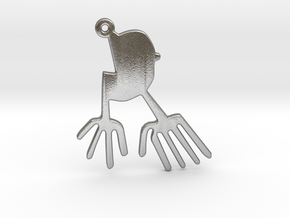 Nazca: The Bird in Natural Silver