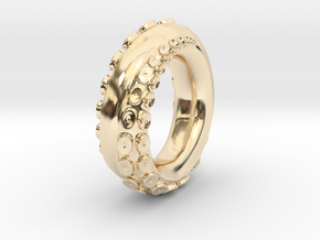 Octopus S7 in 14K Yellow Gold
