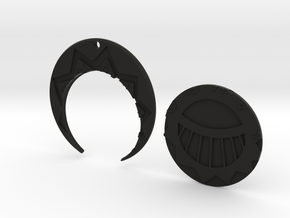 Golden CitiesMedal Pendant in Black Natural Versatile Plastic