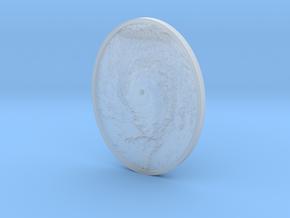 Hurricane Eye Pendant in Smooth Fine Detail Plastic