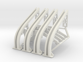 Grav Uppers And Lowers in White Natural Versatile Plastic