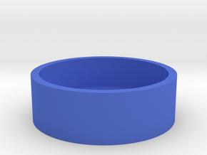 Okito Box Base USA Half Dollar in Blue Processed Versatile Plastic