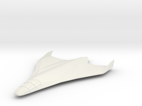 Eclipse-Class Shuttle in White Natural Versatile Plastic