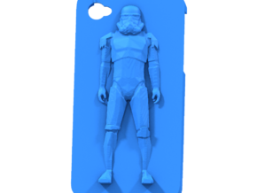 stormtrooper case iphone 4 in White Strong & Flexible