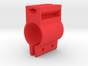 Blocco-bici-01 in Red Processed Versatile Plastic