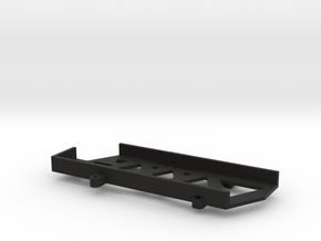 Short Battery Tray for SCX10 II in Black Natural Versatile Plastic
