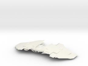 Romulan Att Wing in White Natural Versatile Plastic