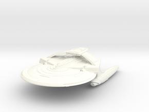 "Reliant Refit A Class Cruiser  7.3"" in White Processed Versatile Plastic"