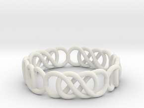 jewelry 16.9mm in White Natural Versatile Plastic