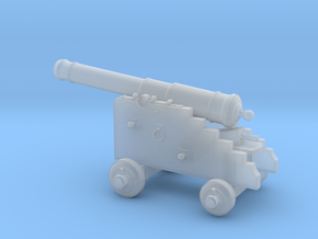 18th Century 6# Cannon-Naval Carriage 1/35 in Smooth Fine Detail Plastic