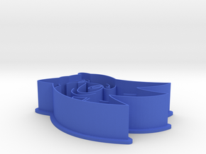 Sonic The Hedgehog Cookie Cutter in Blue Processed Versatile Plastic