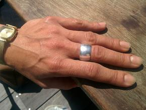 RING 19 mm in Polished Silver