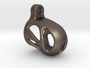Ergobound in Polished Bronzed Silver Steel