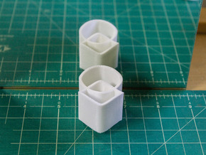 Ambiguous Cylinders : Overlap in White Strong & Flexible