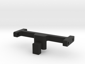 Mounting Bar, normal in Black Natural Versatile Plastic
