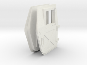 1:6 scale Hasbro HMMWV Doors back in White Strong & Flexible