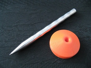 Stand: Pen Lux in Orange Processed Versatile Plastic