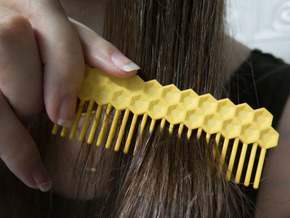 Comb Comb 1 in Yellow Strong & Flexible Polished
