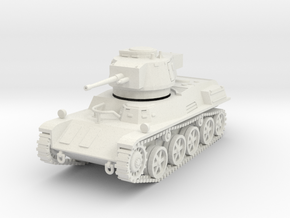 PV123 38M Toldi IIa Light Tank (1/48) in White Natural Versatile Plastic